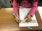幼児 算数 学習風景