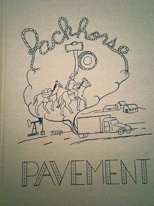 Packhorse to Pavment book