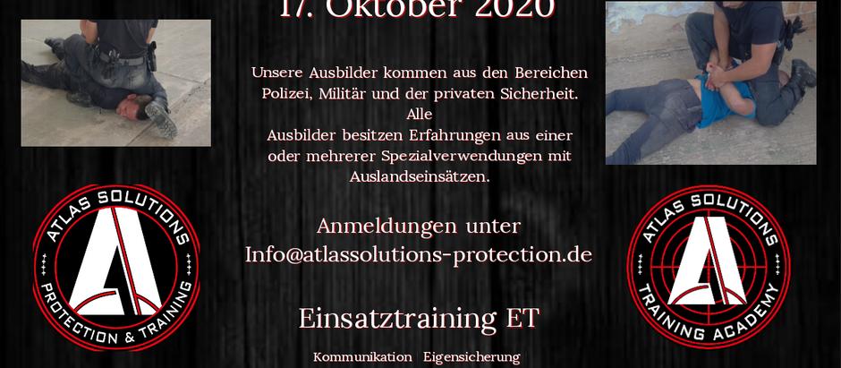 Einsatztraining (ET)
