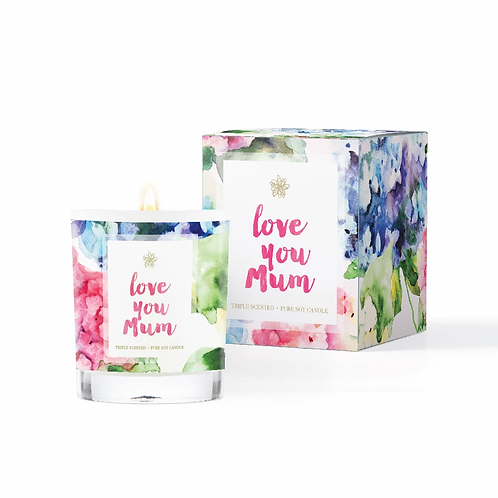 Conscious Candle Co. 'Love You Mum'