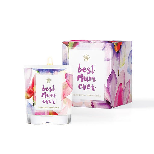 Conscious Candle Co. 'Best Mum Ever'