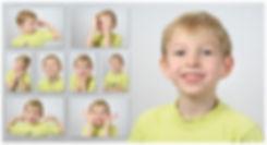 Портреты на однородном фоне
