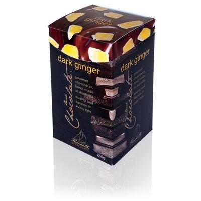 Dark Chocolate Ginger 250g