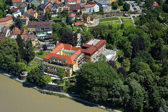 Kurhaus Schärding_Hotel_Vogelperspektive
