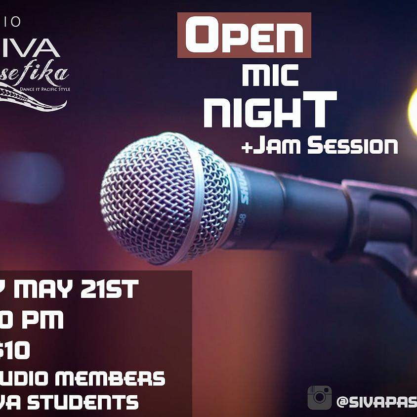 Open Mic Night  +Jam Session (1)