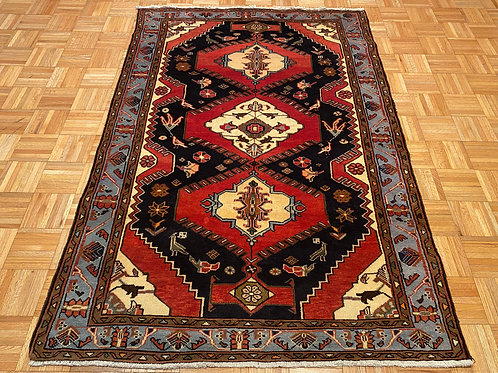 #C4839  New Hand Knotted Persian Tribal Rug