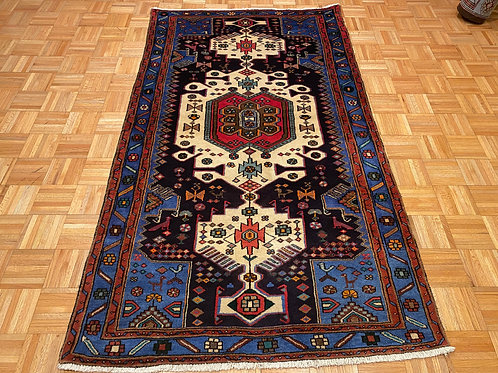 #241  Hand Knotted Persian Area Rug