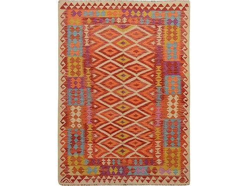 #503  Flat Weave Afghan Kilim Rug