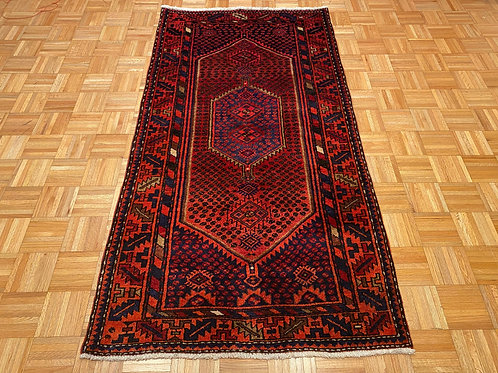 #252   Hand Knotted Persian Tribal Area Rug