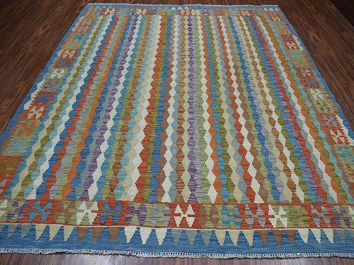 #469  Hand Woven Afghan Kilim Rug