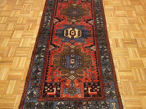 C226  New Hand Knotted Persian Tribal Area Rug