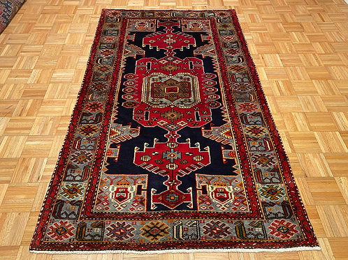 #274  Hand Knotted Navy Persian Tribal Rug