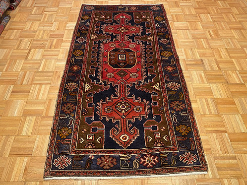 #251  Hand Knotted Persian Area Rug