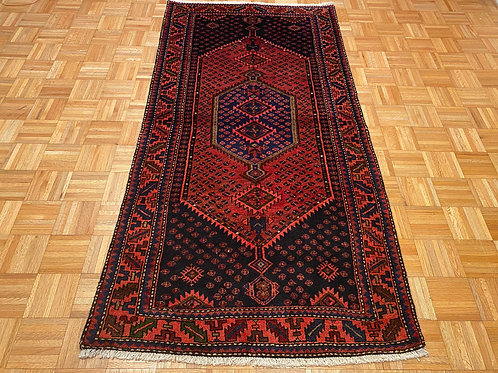 #250  Hand Knotted 100% Wool Persian Area Rug