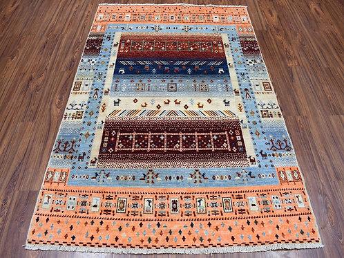 #556  Hand Knotted Kashkooli Gabbeh Oriental Rug
