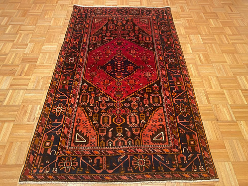 C247  New  Hand Knotted Geometric Persian Oriental Rug
