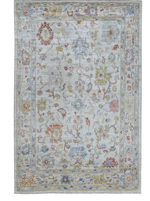 #547  All Over Design Oushak Oriental Rug