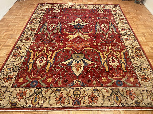 New Hand Knotted Fine Wool Tribal Area Rug