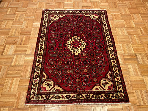 """#158   3'5"""" x 5'  New Hand Knotted Persian Tribal Area Rug"""