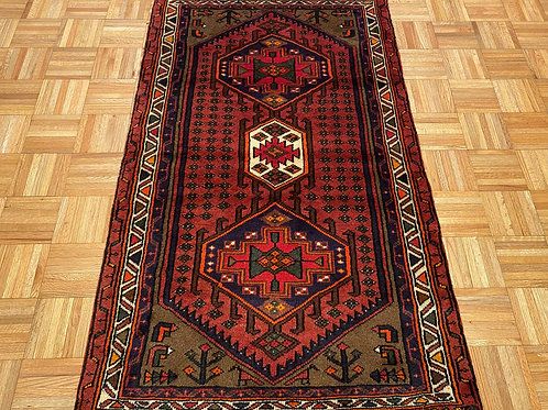 #145  Hand Knotted Geometric New Persian Area Rug