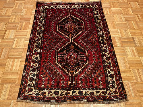 #132   Hand Knotted Persian Shiraz Rug
