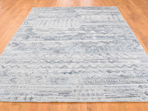 #539 Modern Hi-Low Pile Area Rug