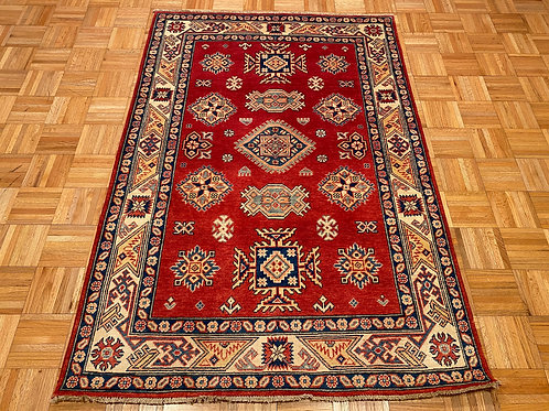 #217  Hand Knotted Caucasian Rug, Wool Oriental Rug