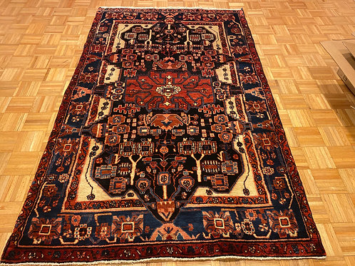 H340  Hand Knotted Persian Area Rug
