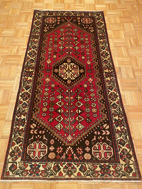 C256  New Hand Knotted Red Persian Oriental Area Rug