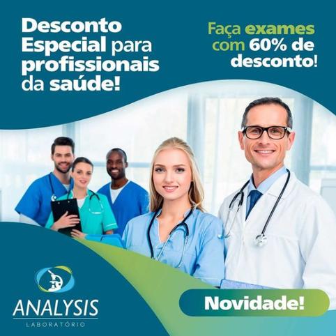 Desconto para profissionais da saúde