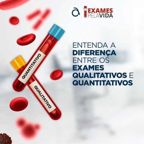 Entenda as diferenças entre os exames qualitativos e quantitativos