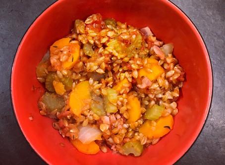Légumes au petit épeautre