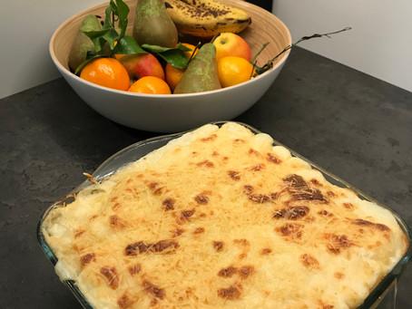 Lasagnes au saumon et céleri
