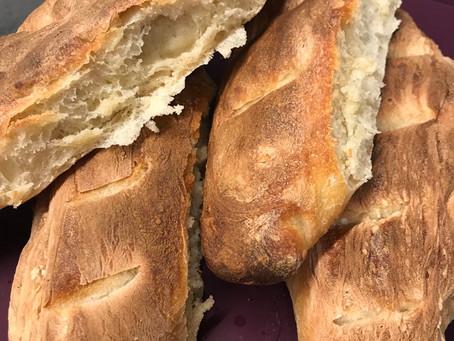 Petites baguettes parisiennes