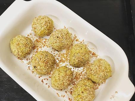 Falafels de lentilles corail 