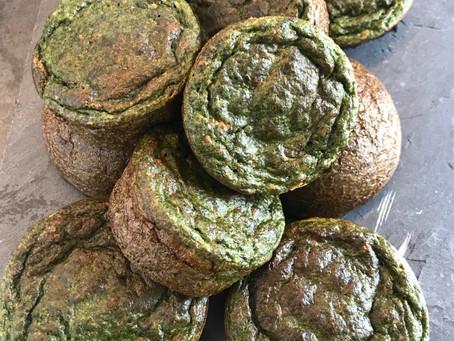 Muffins fêta/épinards