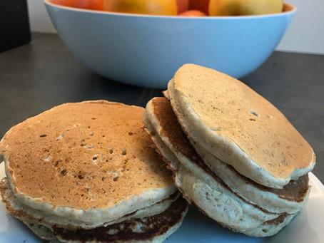 Pancakes sans sucres ajoutés