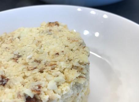 Poêlée de chou-fleur au parmesan