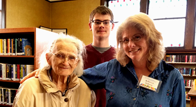 Rebecca Nyberg held an Adult Program entitled Respect for Elders.