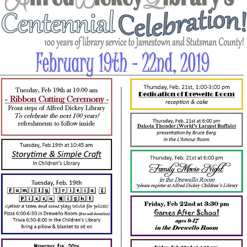 JRVLS Centennial Celebration