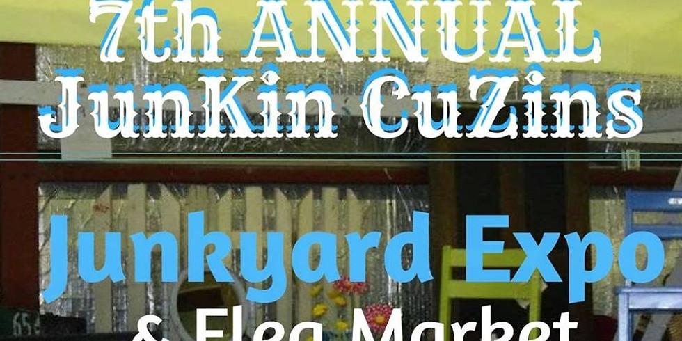 7TH Annual Junkin Cuzins Junkyard Expo & Flea Market