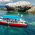 Diving at Malang Rock Tioman Malaysia