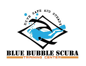 BLUE BUBBLES LOGO