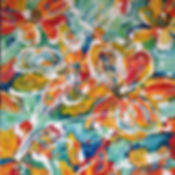 Poppies #5.acrylic on canvas.12x12.JPG