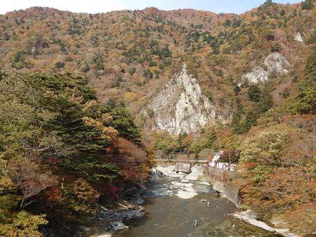 福渡橋からの景色 紅葉