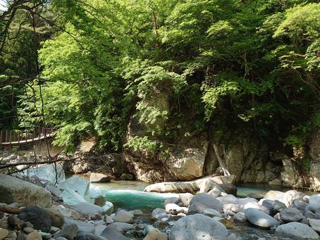 仙人岩吊り橋