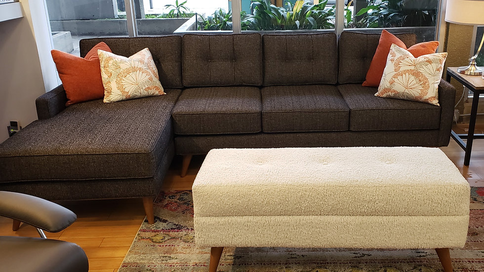 Butler sofa and chaise