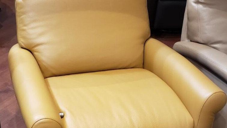 American Leather Adley manual recliner, high leg
