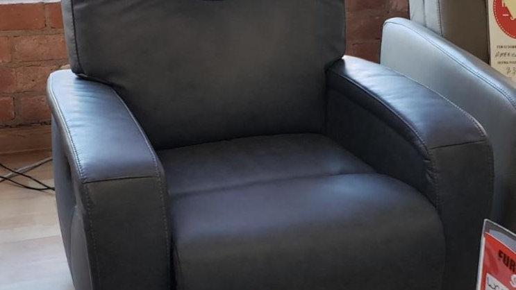 Palliser Torrington layflat recliner Dax Charcoal