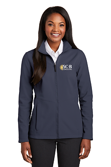 Women's Core Soft Shell Jacket, Embroidered - L317
